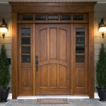 Novel Adornments for Your Exterior Wood Doors